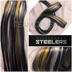 Cincinnati bengals 18 clip in hair extension set 4 pieces cincinnati bengals 18 clip in hair extension set 4 pieces shops cincinnati and etsy shop pmusecretfo Images