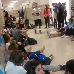 So this happened at a PUBLIC high school. A student felt led to preach during lunch and the halls were lined with students wanting to hear. I'm being told around 9 students gave their hearts to The Lord. Students crying and praying and hugging. This is what it's about! It even made local news! #NoBoundaries Praying for revival in our schools. The next revival wave is not going to happen in the church's four walls it will happen outside. This generation is called to reach their peers. Its who…