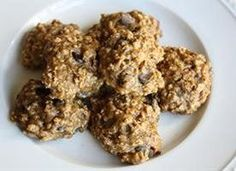 Cakey bread-like goodness in a cookie! These cookies are low on sugar (and guilt), and high on taste.   36 cookies