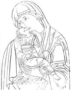 Иконы. Книга иконных образцов. Прориси (500 фото)
