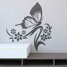 c195c553834 Floral Anemoi - VINILOS DECORATIVOS. VinilosMariposasCristalesPintura