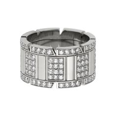 Tank Française ring by Cartier