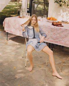 Easy, breezy. Escape to Gran Canaria with @AnnaEwers, photographed by @venetialscott.