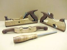 Chester Barbasa's Tools with Hock Tools