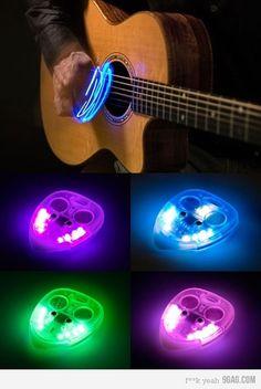 guitar pick. Cool!