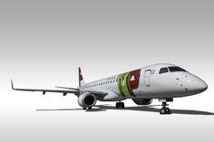 TAP Express Embraer 190 aircraft