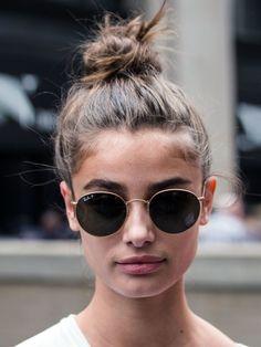 Messy Bun für dünnes Haar