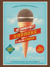 """""""Ice cream (I Scream) Vintage Poster"""" – This flyer/poster was designed to promote summer music event, such as a gig, concert, festival, dj set or karaoke party. This poster can also be used for a new album promotion or other advertising purposes. Flyer Printing, Printing Services, Online Printing, Spot Uv Business Cards, Custom Business Cards, Posters Vintage, Retro Posters, Karaoke Party, Club Flyers"""