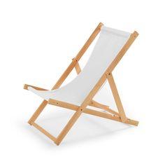 Klappliegestuhl holz segeltuch  Details zu Liegestuhl Gartenmöbel aus Holz Strandliege Sonnenliege ...