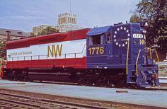 Norfolk and Western Bicentennial EMD SD45.