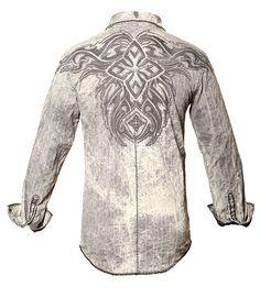 Helix - Gray Acid, Roar Clothing