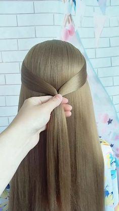 Hair Scarf Styles, Hair Up Styles, Short Hair Styles Easy, Medium Hair Styles, Curls For Long Hair, Bun Hairstyles For Long Hair, Braids For Short Hair, Updos For Medium Length Hair Tutorial, Hair Tutorials For Medium Hair