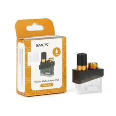 SMOK Trinity Alpha Empty Pod is designed for SMOK Trinity Alpha Resin Pod Kit. Vape Accessories, Drip Tip, Vape Shop, Usb Flash Drive, Things To Come, Vaping, Electronic Cigarette, Electronic Cigarettes, Usb Drive