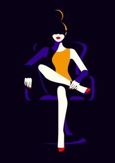 Malika Favre: Ilustraciones llenas de color y simpleza! | Undermatic