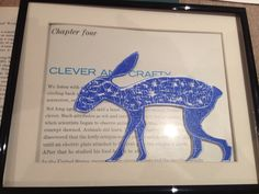 Blue Hare A Beast, Lino Prints, Hare, Clever, Moose Art, Learning, Animals, Animales, Animaux