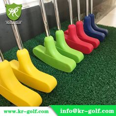 UV-Glowing rubber putter for blacklight responsive indoor mini golf club/Adventure golf club. Color:red,orange,green high quality whole glow golf putter, welcome to contact us. Backyard Play, Backyard Games, Mini Golf Games, Indoor Mini Golf, Golf Tools, Putt Putt Golf, Adventure Golf, Crazy Golf, Super Fly