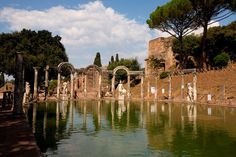 Hadrian's Villa, a place of memory.