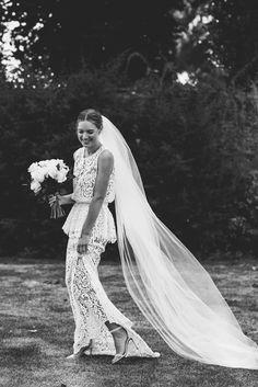 Bridal Dresses, Wedding Gowns, Lace Wedding, Garden Wedding, Bohemian Bride, Bridal Style, Wedding Bells, Wedding Styles, Dream Wedding