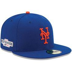 Men s New York Mets New Era Royal 2016 Postseason Side Patch 59FIFTY Fitted  Hat. Baseball ... 05a9ffb98a5