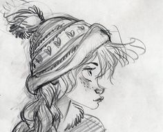 Keane Art, princehans:   Frozen Concept Art - Glen Keane
