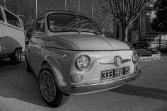 Old Fiat 500 Abarth