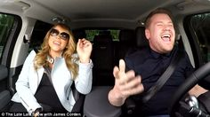 Car karaoke: Mariah joined new host for The Late Late Show James Corden in a clip for his show in which the two sang along to a collection of her greatest hits