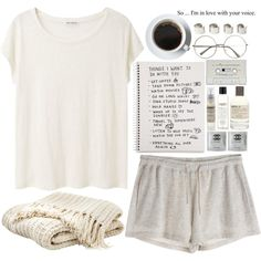 By aussiegoddess on Polyvore; sometimes we need to remember that its okay to just stop, lay back, and enjoy life the way it is, and look forward to the changes of tomorrow.