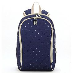 Luisvanita Diaper Backpack Bags Mommy Extra Large Capacity Designer Diaper Bags and Backpack Navy Dot ** See this great product.