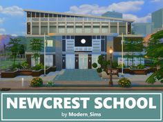 Sims 4 CC's - The Best: School (No CC) by Modern Sims