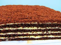Marlenka cu cacao – cerulina Baking Recipes, Cake Recipes, Dessert Recipes, Bread Recipes, Fancy Desserts, Healthy Desserts, Delicious Deserts, Yummy Food, Almond Cookies