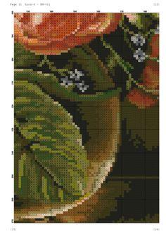 View album on Yandex. Needlepoint Patterns, Counted Cross Stitch Patterns, Cross Stitch Charts, Cross Stitch Designs, Cross Stitch Love, Cross Stitch Flowers, Flowers For You, Pretty Flowers, Filet Crochet