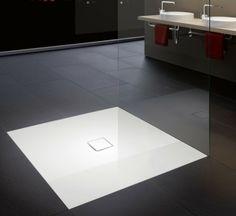 KALDEWEI szintbeépített zuhanytálca