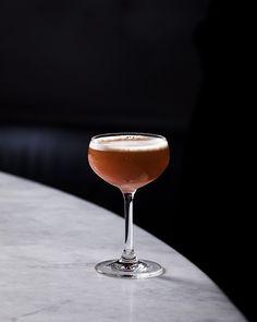 1 oz. reposado tequila ½ oz. aged apple brandy (Belanger uses Clear Creek 8-year) ½ oz. Zucca Rabarbaro ½ oz. Giffard rhubarb liqueur ¾ oz. fresh lime juice ½ oz. raspberry syrup Tools: shaker, strainer Glass: Coupe Garnish: grapefruit twist