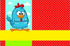 Lottie Dottie Chicken: Free Printable Kit.