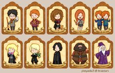 . Harry Potter Bookmarks . by *phatpandax3 on deviantART