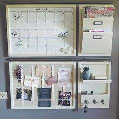 Strong Furniture Living Room Traditional – home office organization diy Home Organisation, Home Office Organization, Home Office Decor, Diy Home Decor, Room Decor, Organization Station, Family Organization Wall, Kitchen Calendar Organization, Organizing Ideas For Office