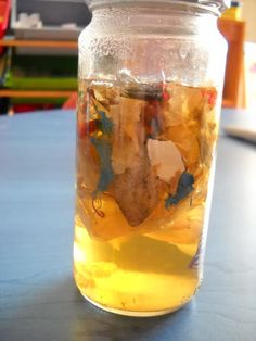 water pollution experiment. Pick up trash around the play ground and put it in water and watch the water over a couple of days.  This link also has lots of ideas for things you can make out of recycled items.