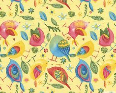 Woodsy - Bird by Bird - Buttercreme