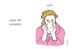 #silna #niezależna #kobieta #ladnie #nieladnie #nieladnierysuje #ilustracja #rysunki #kamila #szcześniak #illustration #drawing #sketching