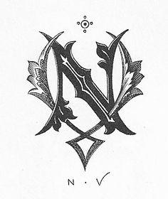 Designspiration — Vintage Monograms | Vintage Me Oh My