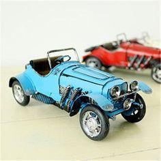 Vintage Car Figurine