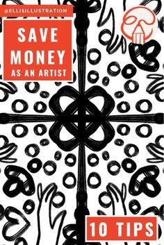 How to Save Money as an Artist And as a Human Being - Elli Maanpää Best Savings, Looking For A Job, It Gets Better, My Money, Make Art, Christmas Treats, Money Saving Tips, Budgeting, Videos