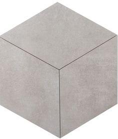 Płytki heksagonalne ROMBUS Betonic 1 60×34,5 romb szare - płytki romby - Płytki heksagonalne - Kaflando