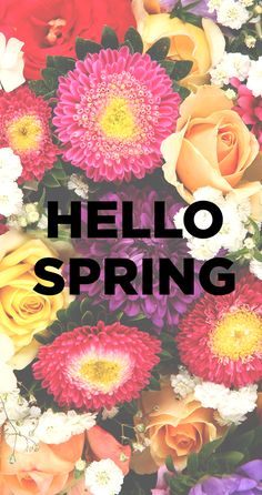 It's spring fashion time!