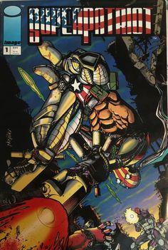 SuperPatriot Comics, Image comics, Geek, by Arttolike on Etsy