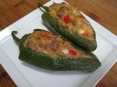 dukan diet recipes Turkey Stuffed Jalapenos
