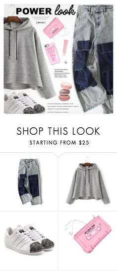 """""""Street Style"""" by metisu-fashion ❤ liked on Polyvore featuring adidas Originals, Lazy Oaf, Casetify, polyvoreeditorial, polyvoreset and metisu"""