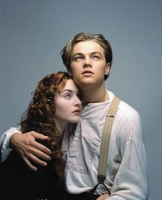 Jack Dawson & Rose DeWitt Bukater. Best couple ever! <3