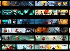 olour scripts serve a functional purpose in animation. Due to the nonlinear production process of computer animation, the director needs all the clues he can get as to what the finished image might look like on the screen. The colour script is an early attempt to map out the colour, lighting, emotion and moods in a film.