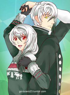 (*¯︶¯*)Lysandro y una Sucrette <3 tipo Lysandra , no sé por qué, pero a…